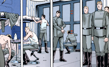 Soontir Fel`s discipline working its magic on 181st IFW -- from 'X-Wing Rogue Squadron #25'