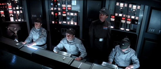 SSD Executor crew pit -- from 'The Empire Strikes Back'