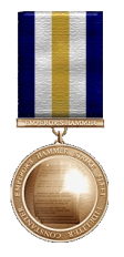 Medal of Communication - gold oak cluster